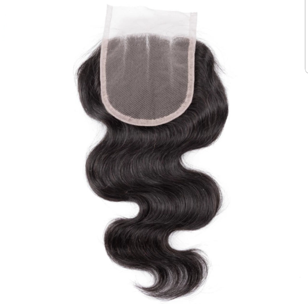 Lace closure frontal