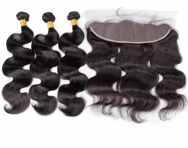 3 bundles with 13x4 Lace Frontal Deal