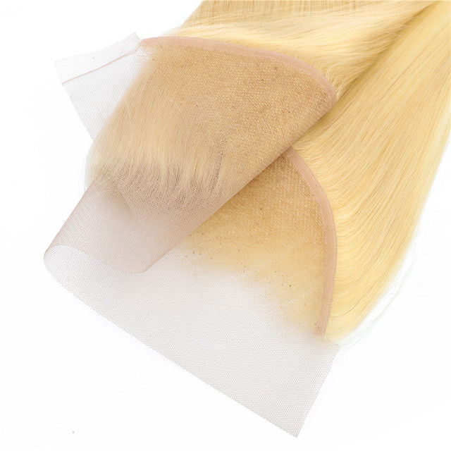 Platinum Blonde straight lace frontal