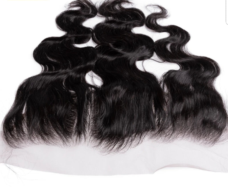Body wave lace frontal