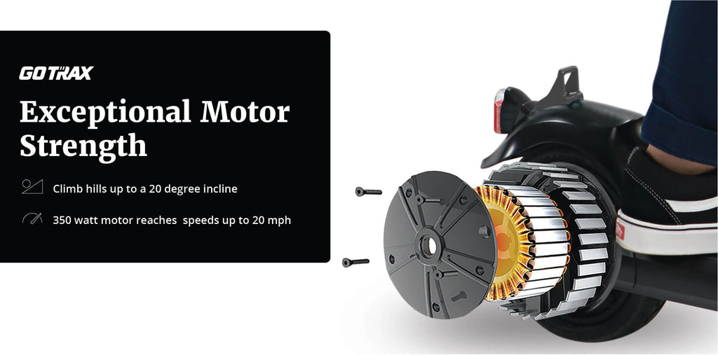 gmax ultra electric scooter motor