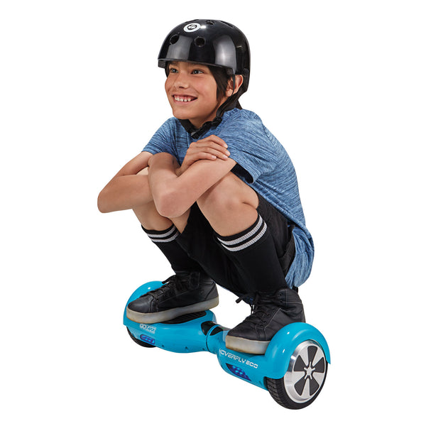 kid on hoverboard