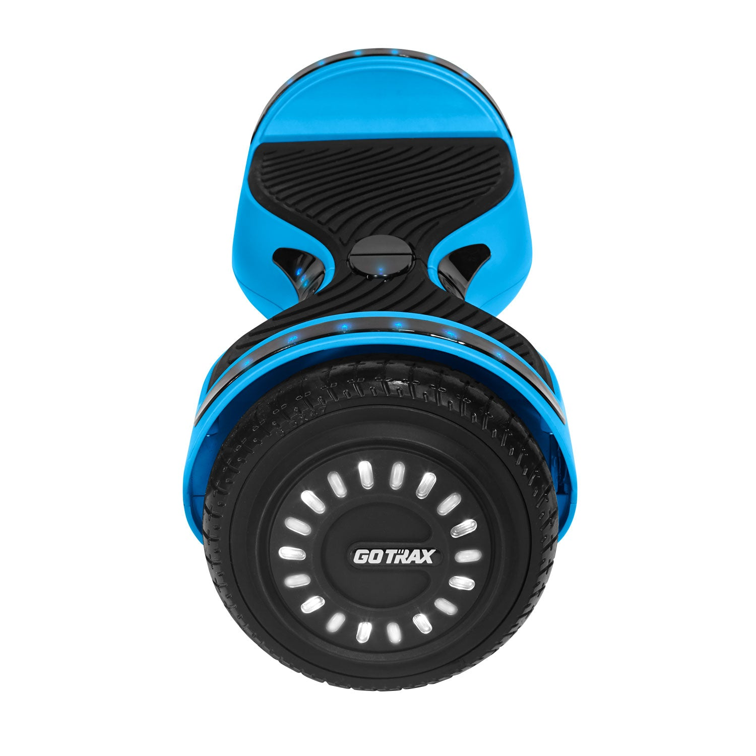 Blue hoverfly E2 bluetooth hoverboard wheel image