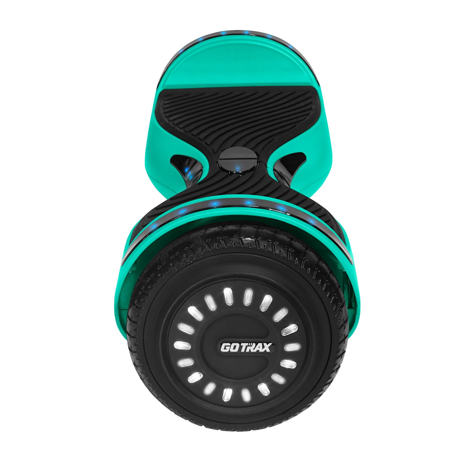 Teal hoverfly E2 bluetooth hoverboard wheel image