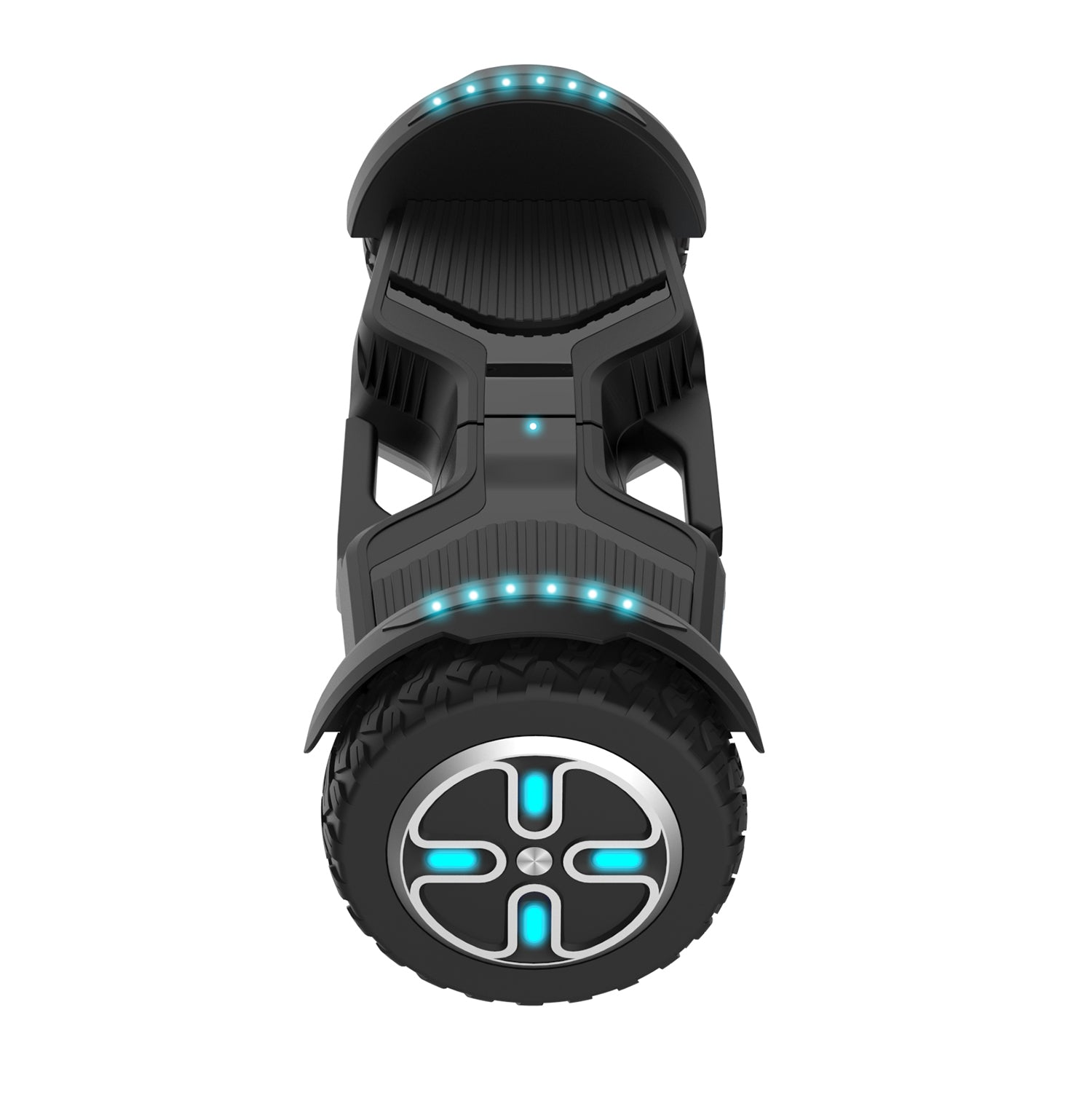 Black E3 hoverboard side image