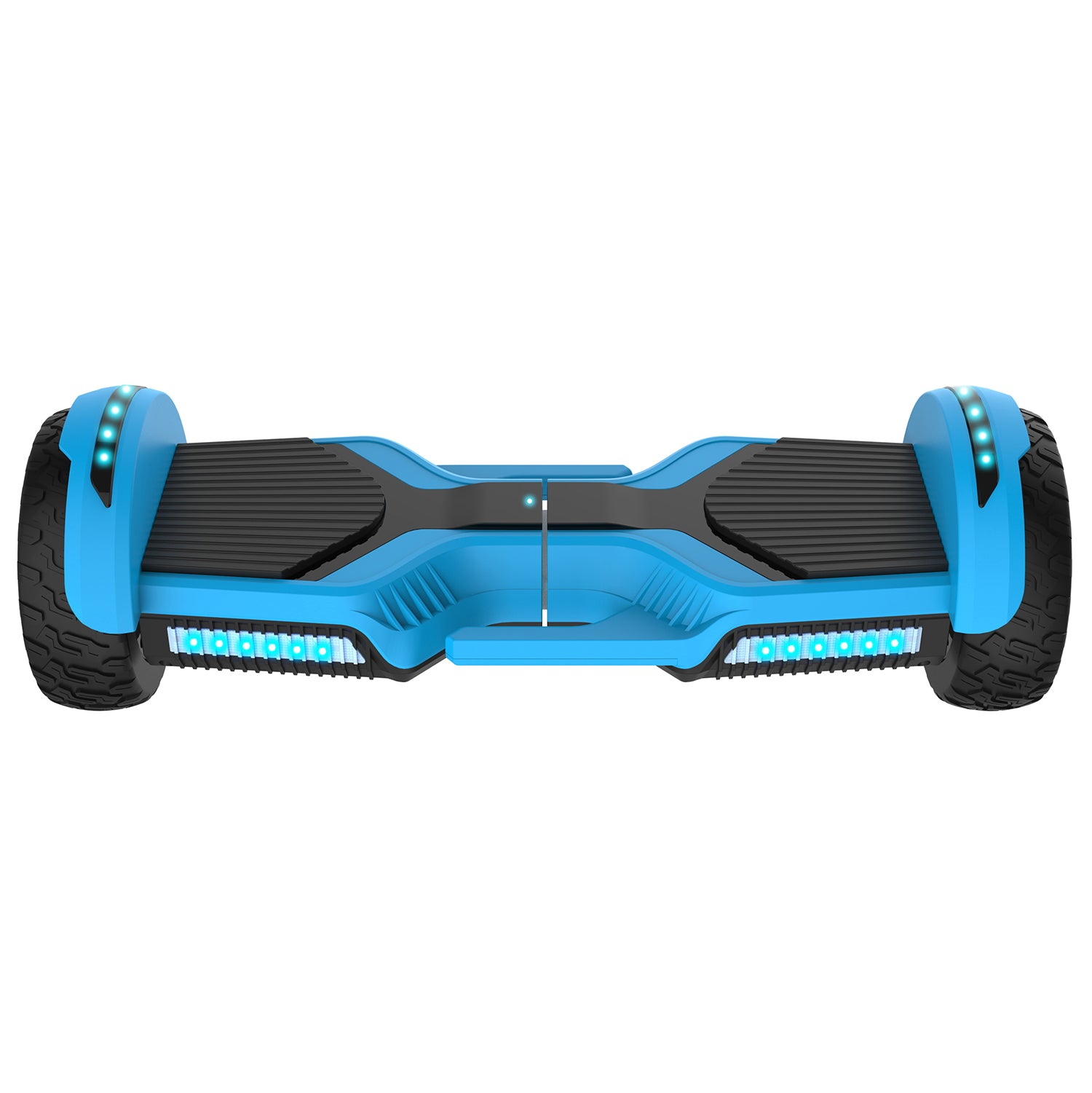 Blue E3 hoverboard front image