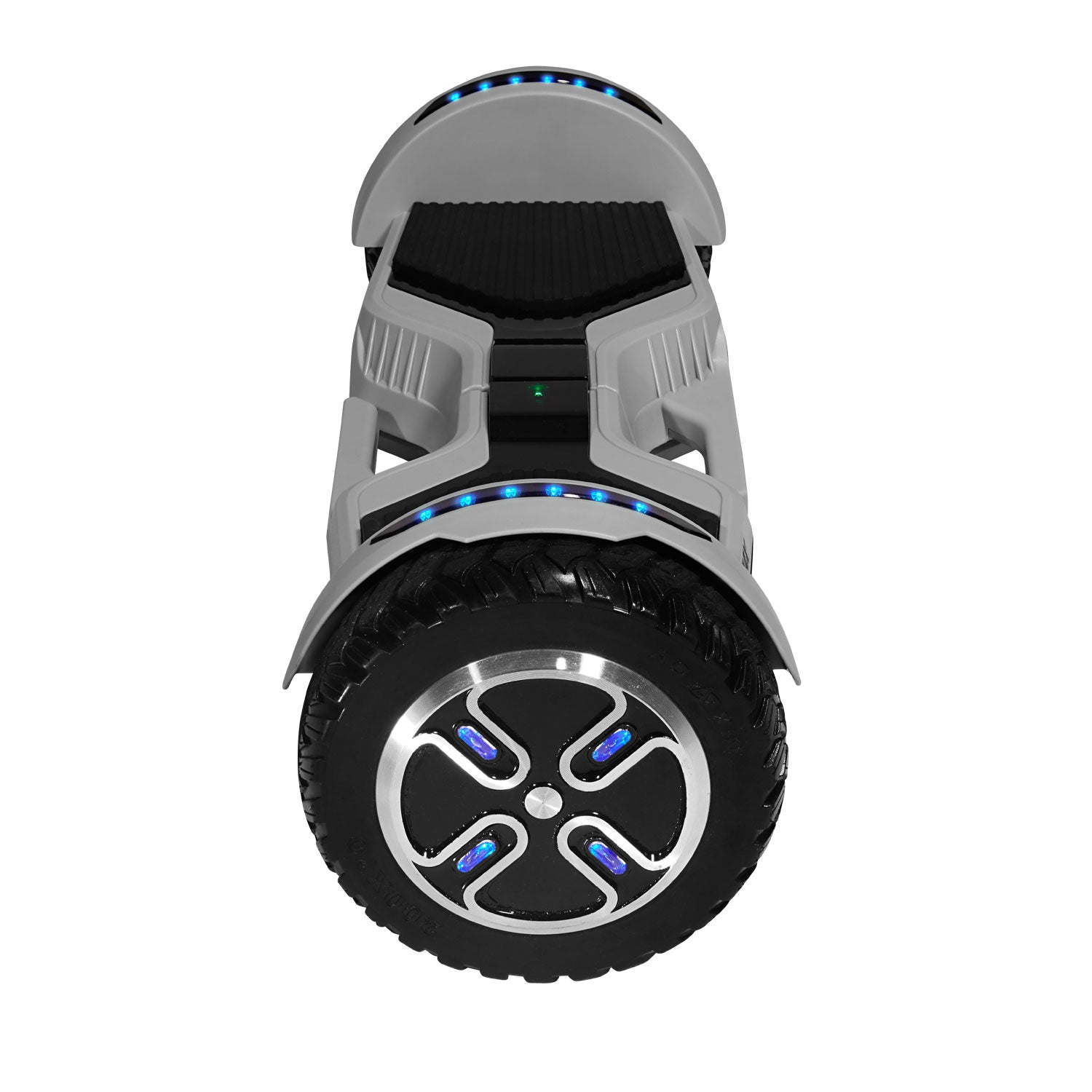 Gray E3 hoverboard side image