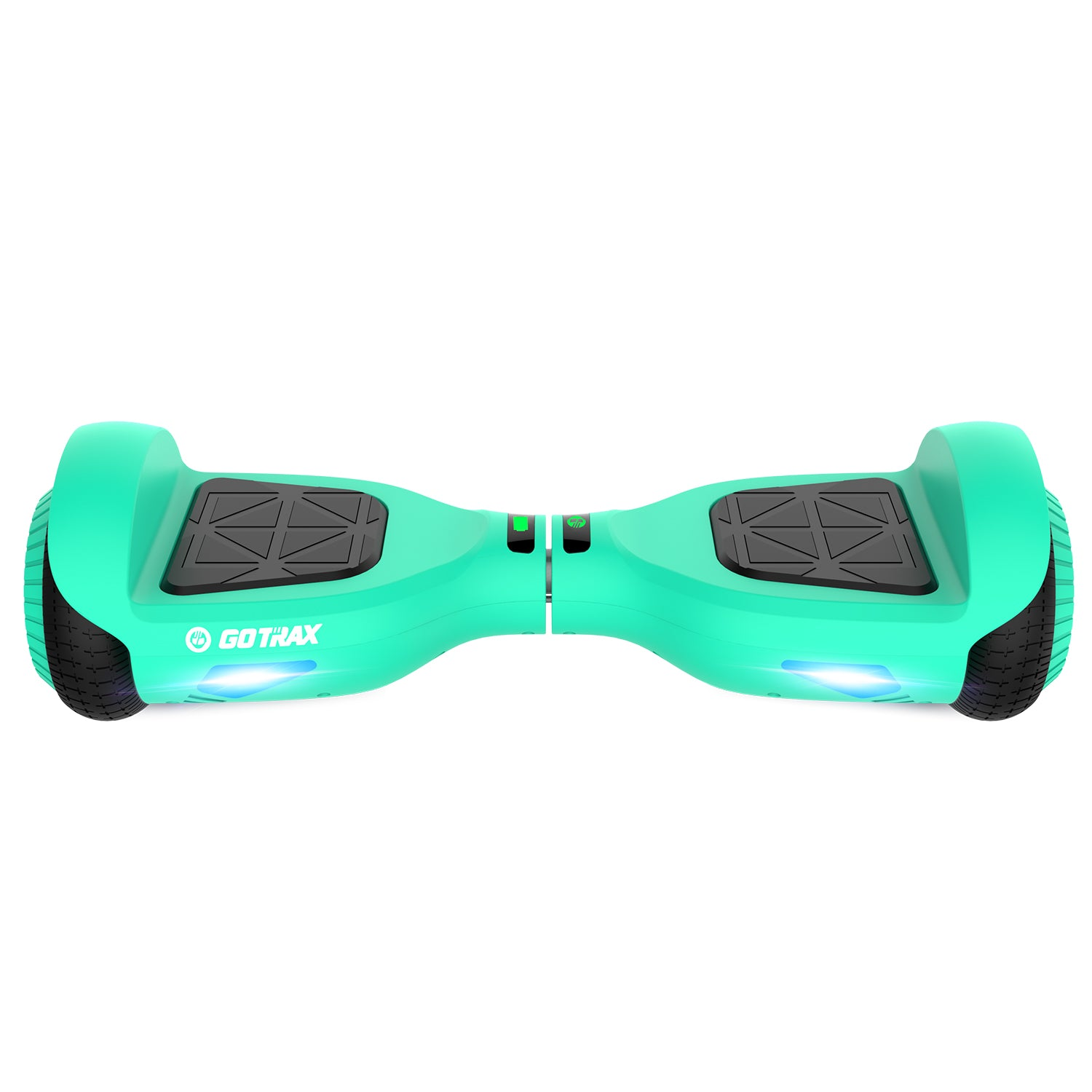 Teal Edge Hoverboard Front Image