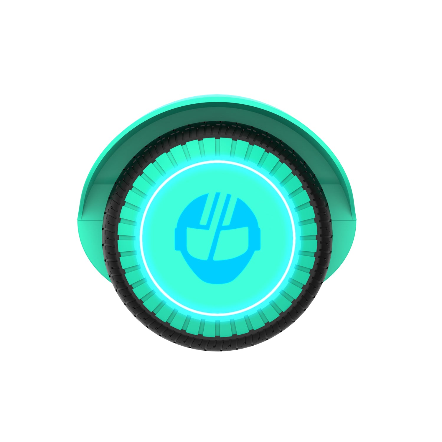 Teal Edge Hoverboard Wheel Image