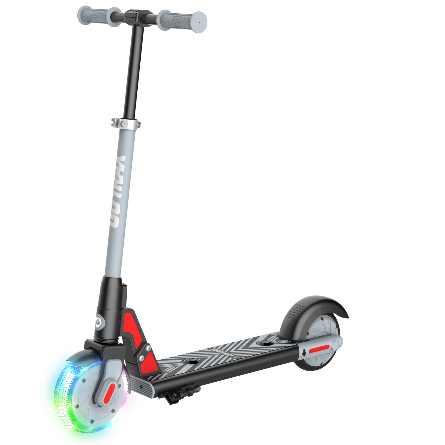 black gks lumios electric scooter for kids main image
