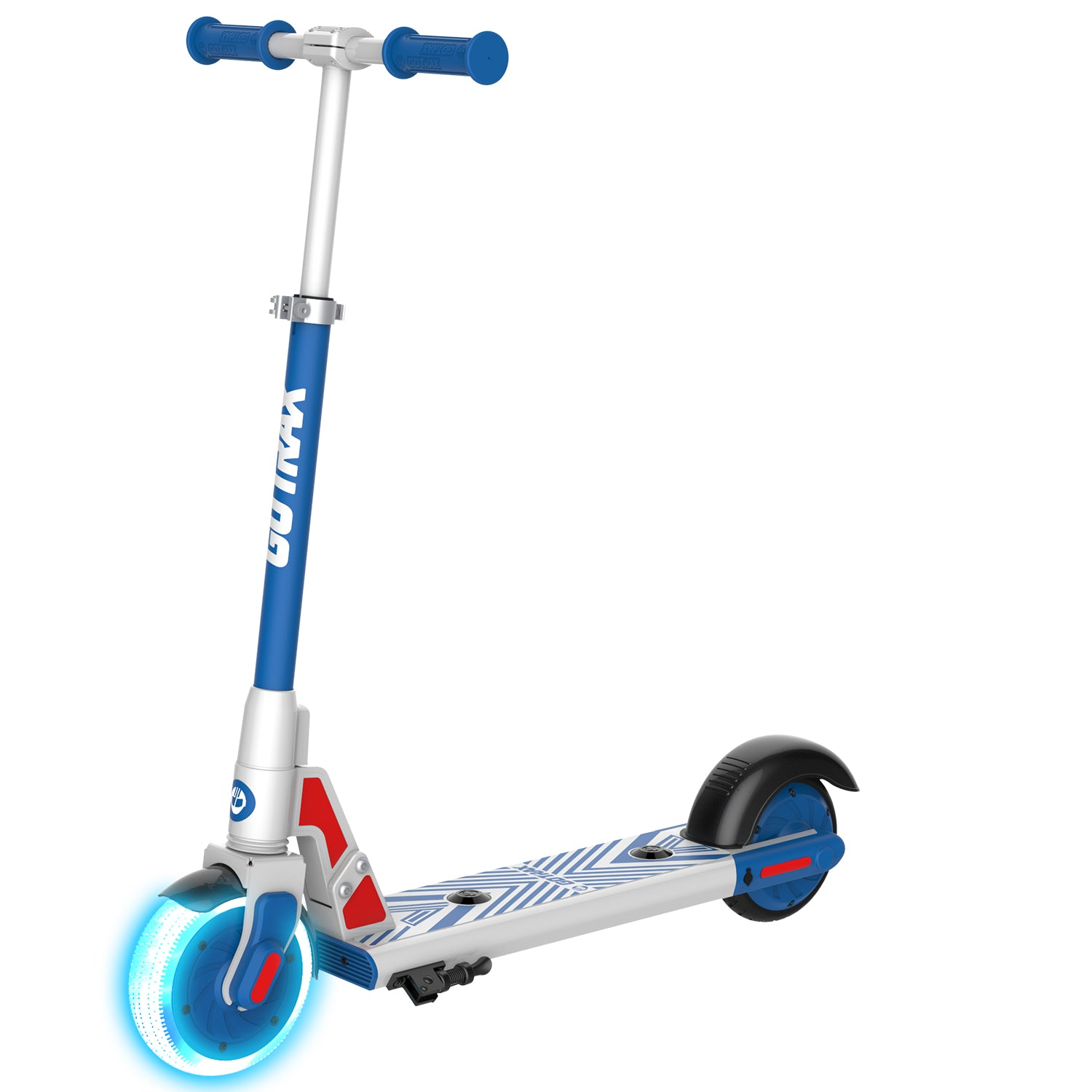 blue gks lumios electric scooter for kids main image