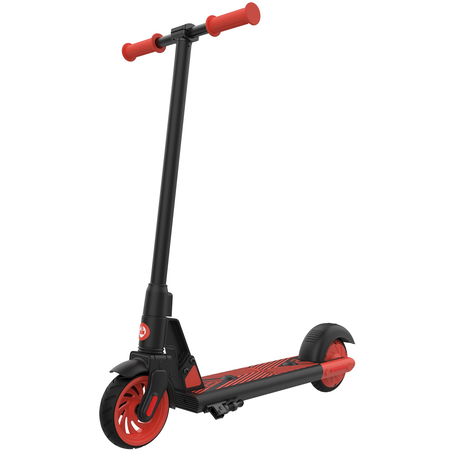 Red gks electric scooter for kids main image