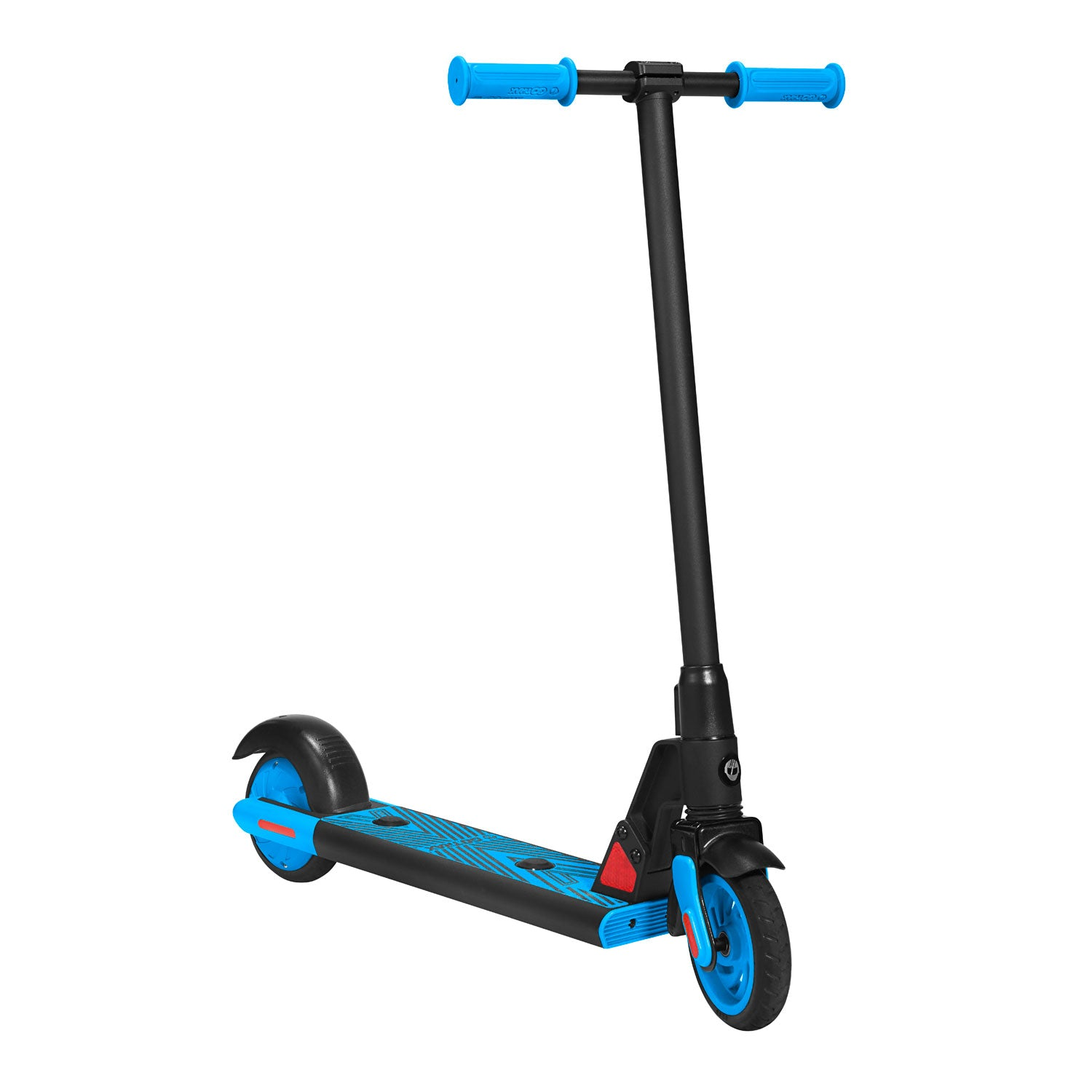blue gks electric scooter for kids angle image