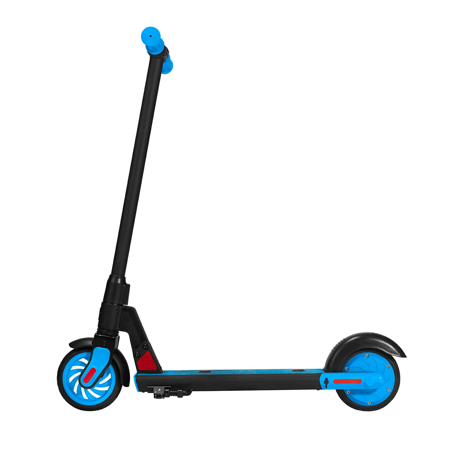 Blue gks electric scooter for kids side image
