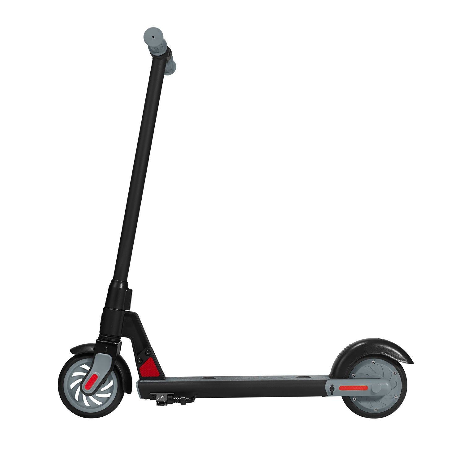 Black gks electric scooter for kids side image