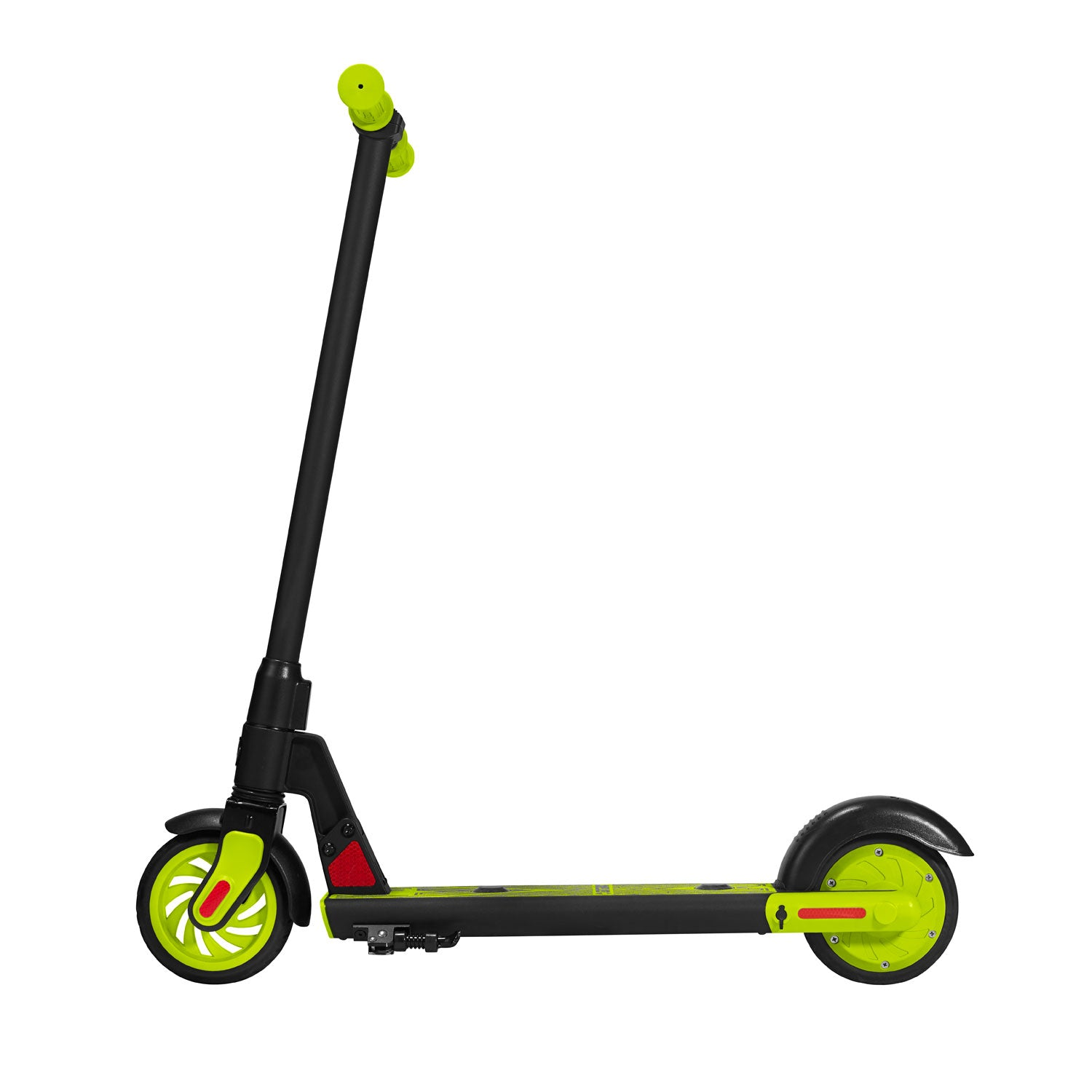 Green gks electric scooter for kids side image