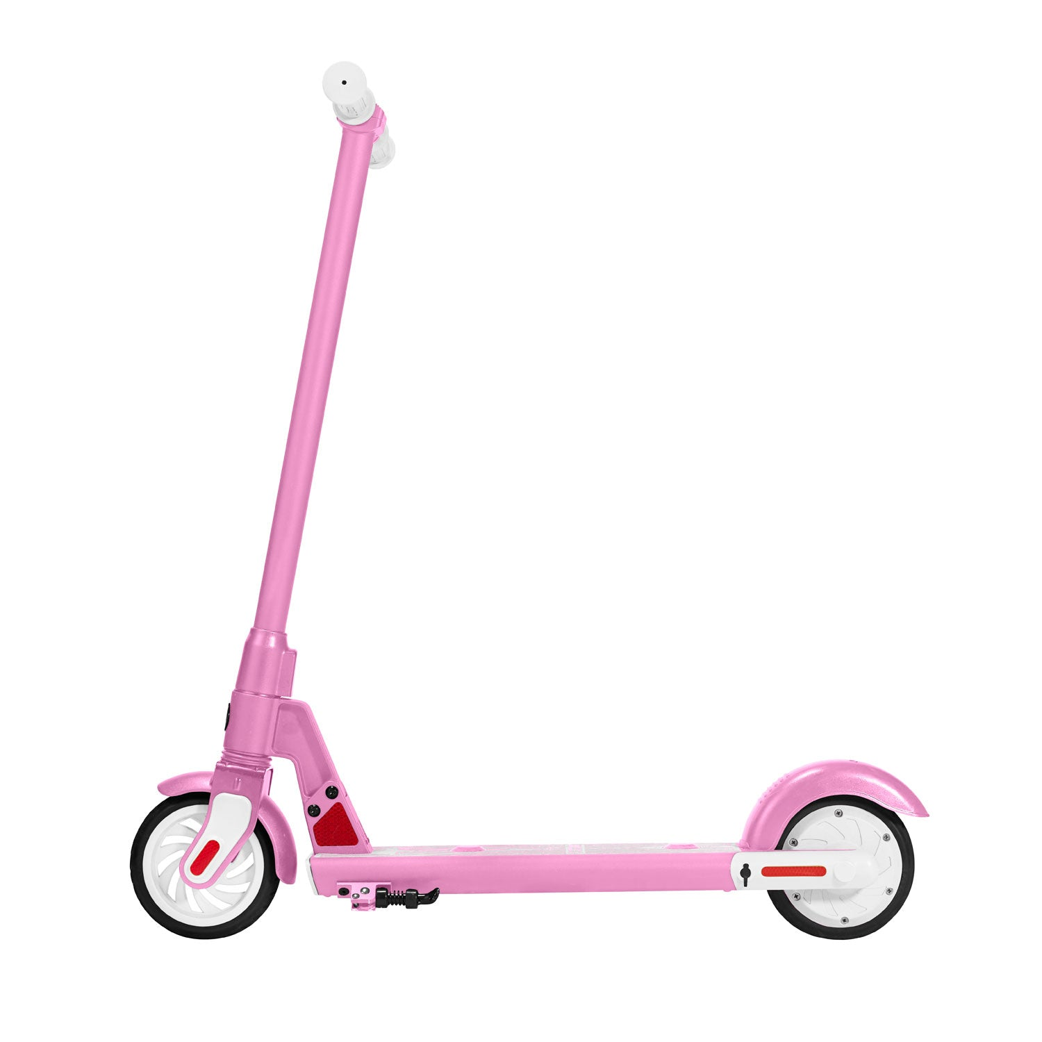 Pink gks electric scooter for kids side image