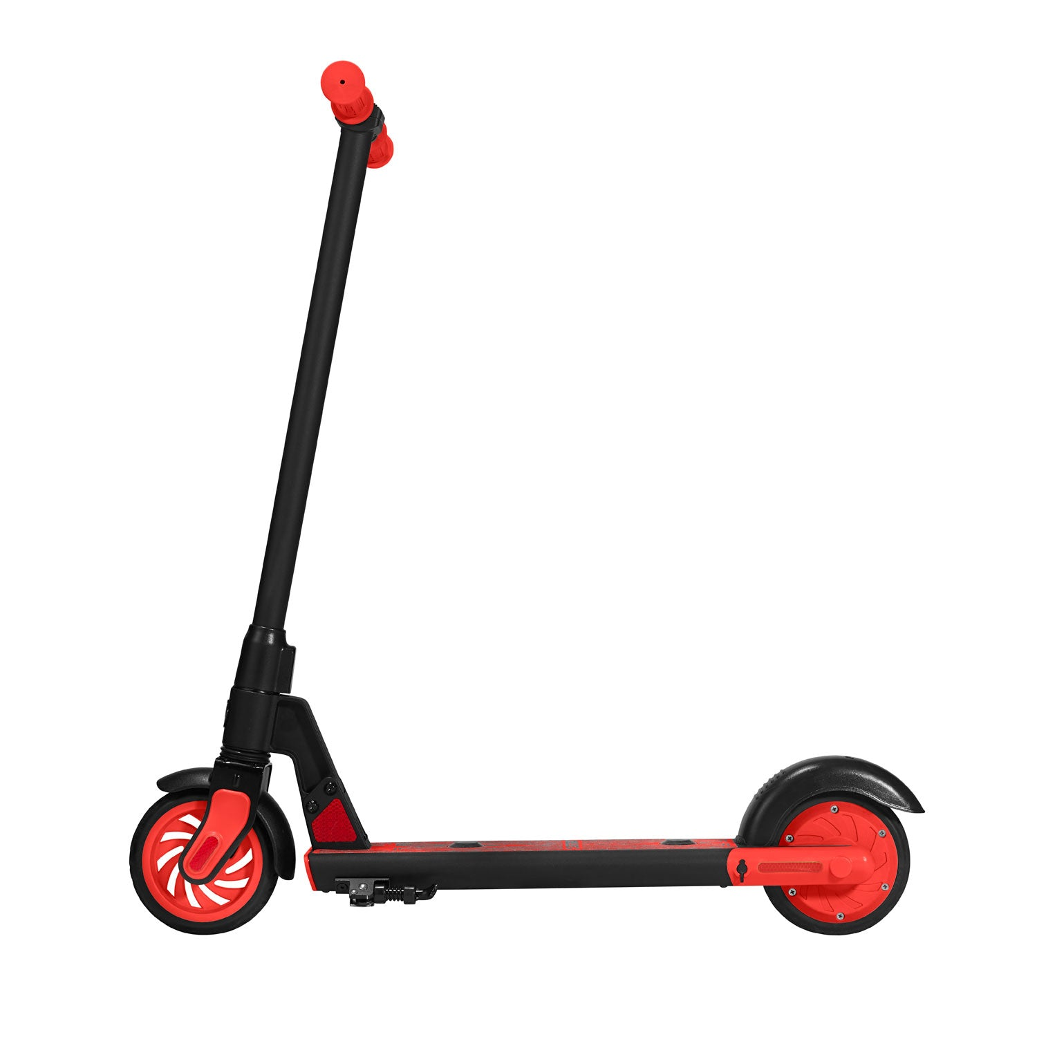 Red gks electric scooter for kids side image