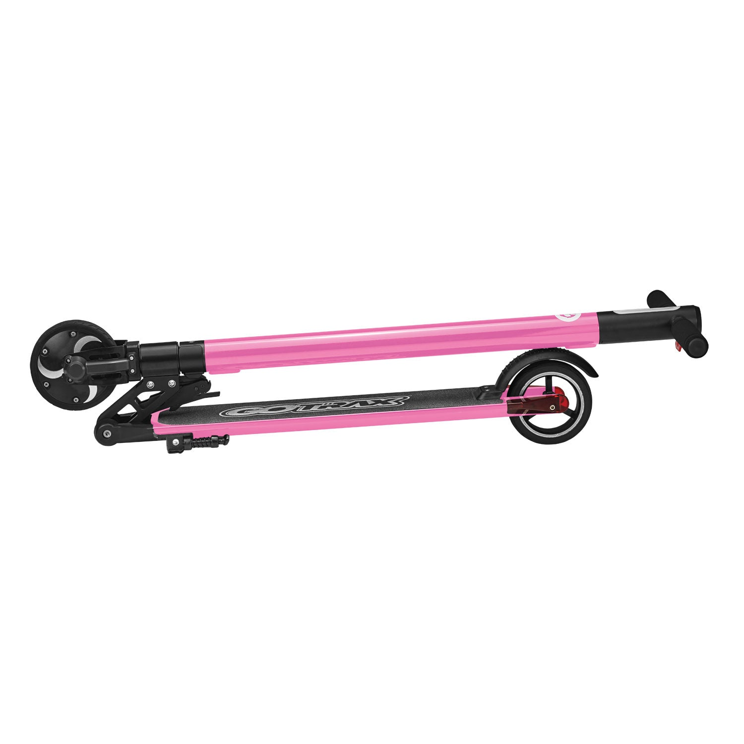 pink g1 folded electric scooter image