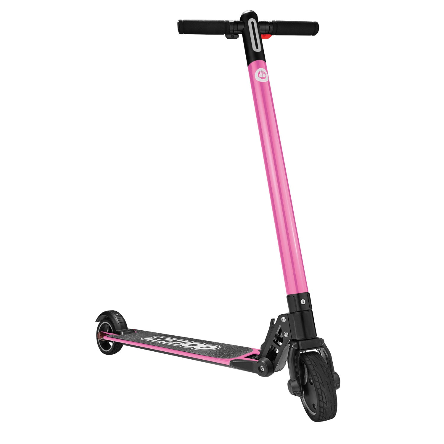Pink G1 folding electric scooter