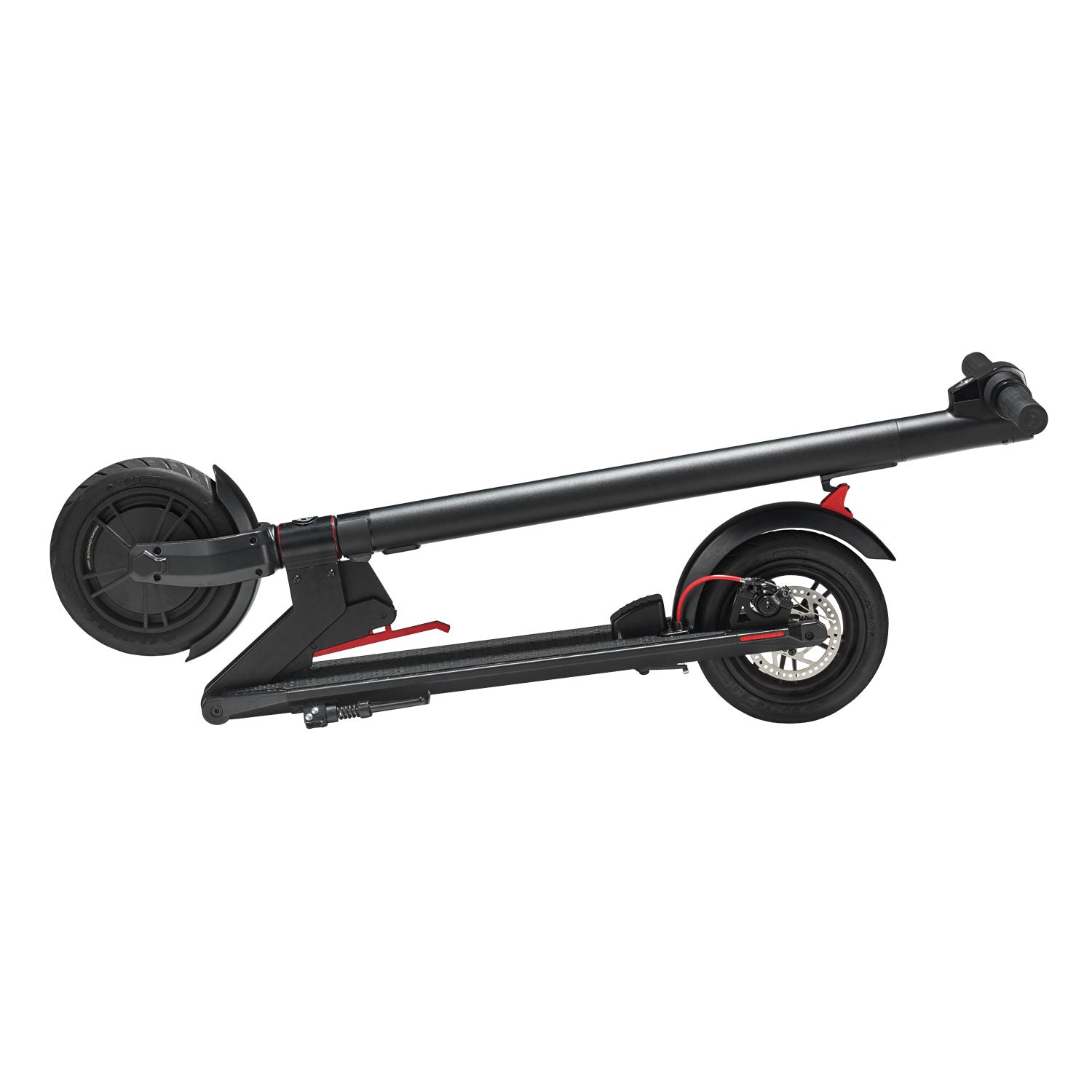 GXL electric scooter folded, black