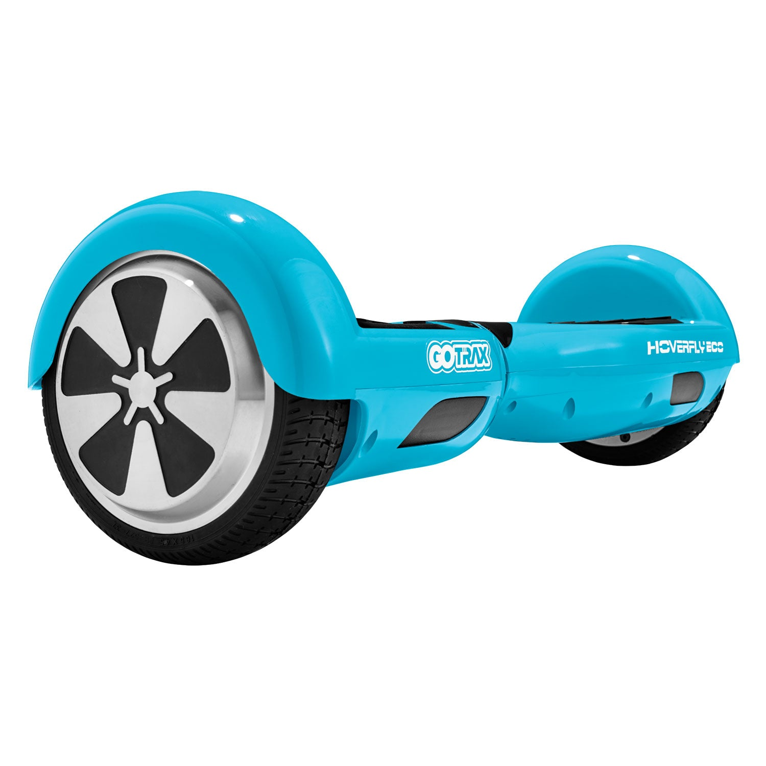 Turquoise hoverfly eco hoverboard