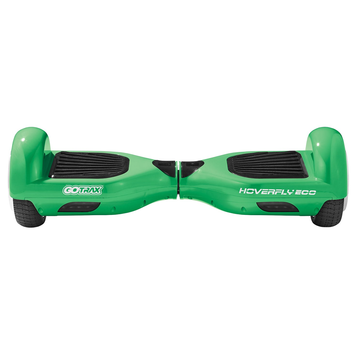 green eco hoverboard front