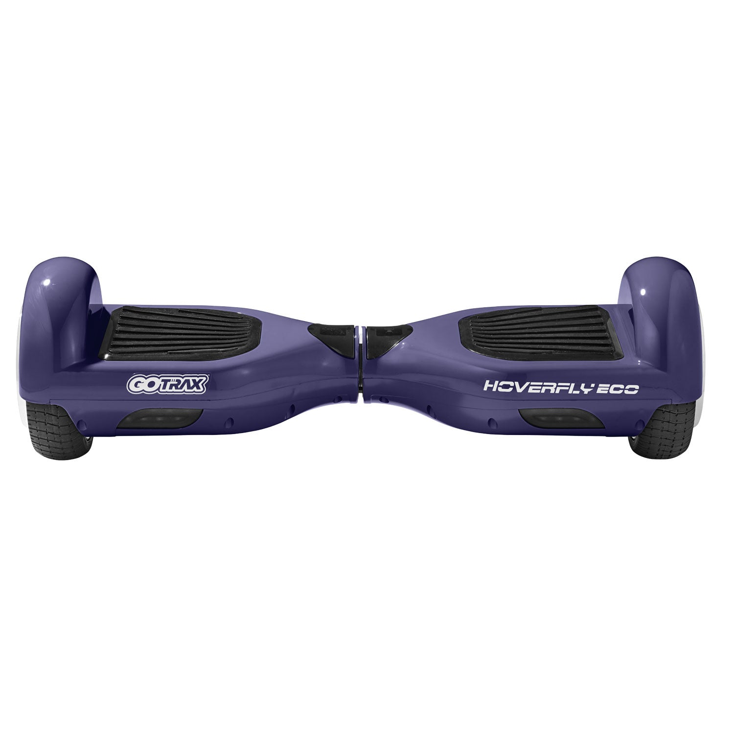 purple eco hoverboard front