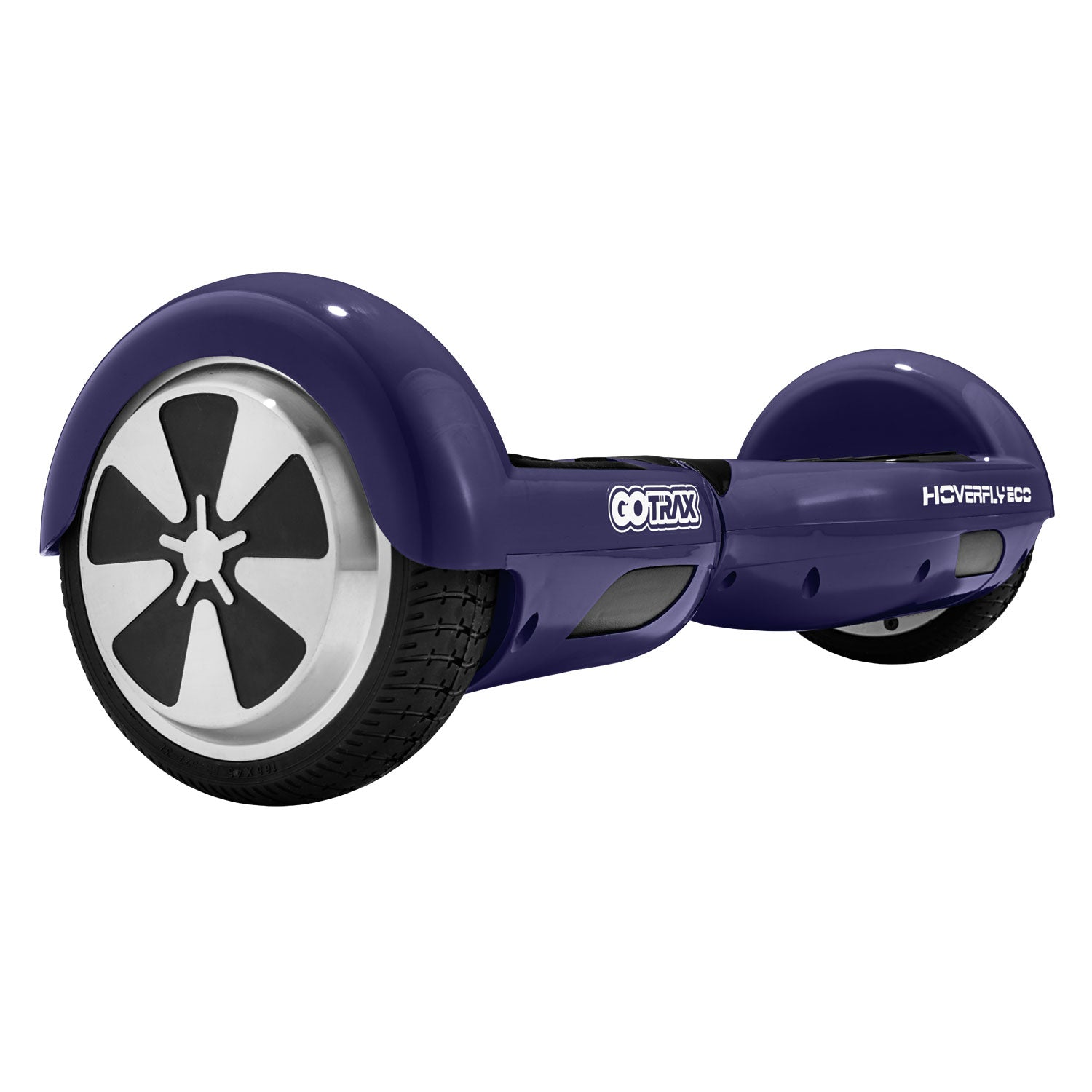 Purple hoverfly eco hoverboard