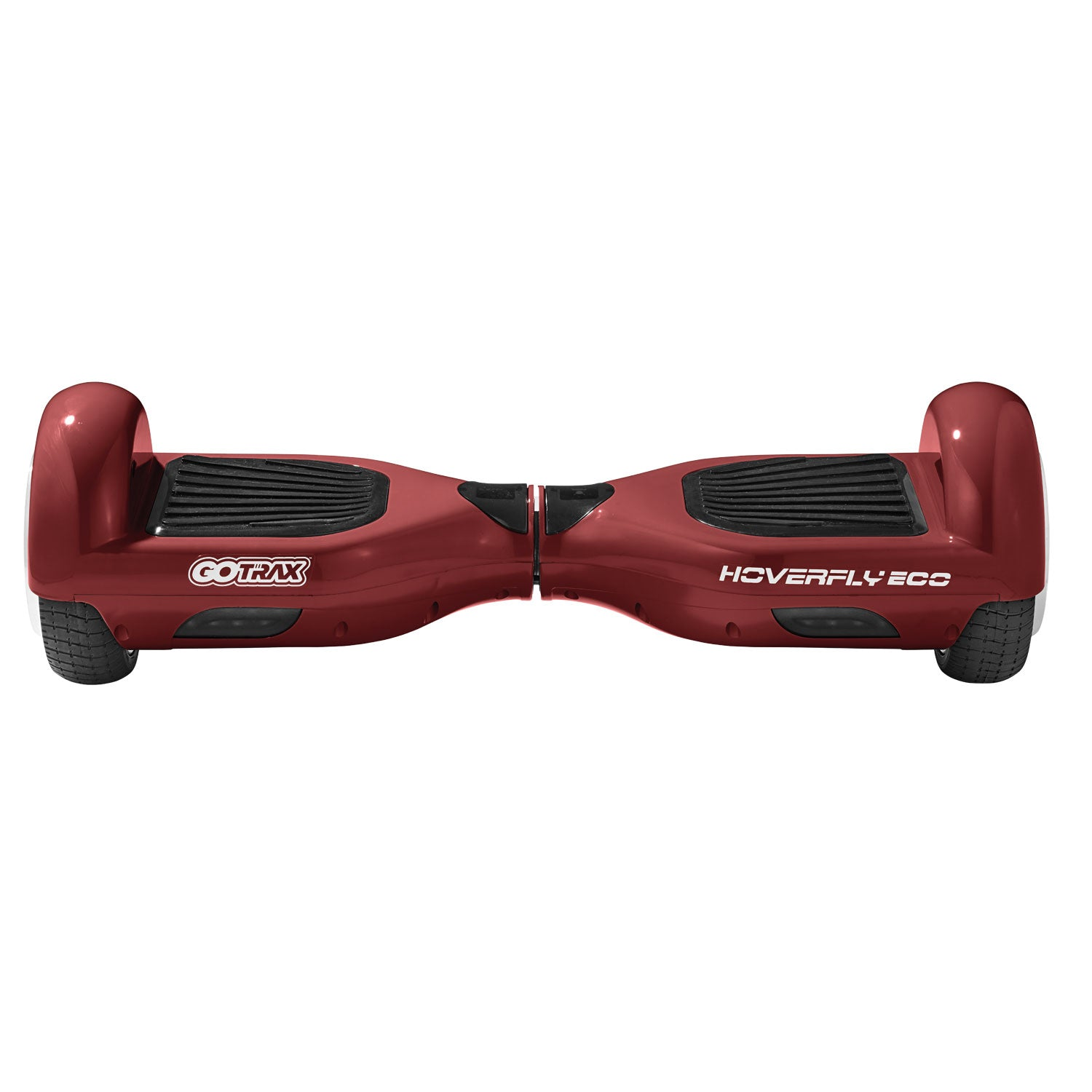 red eco hoverboard front