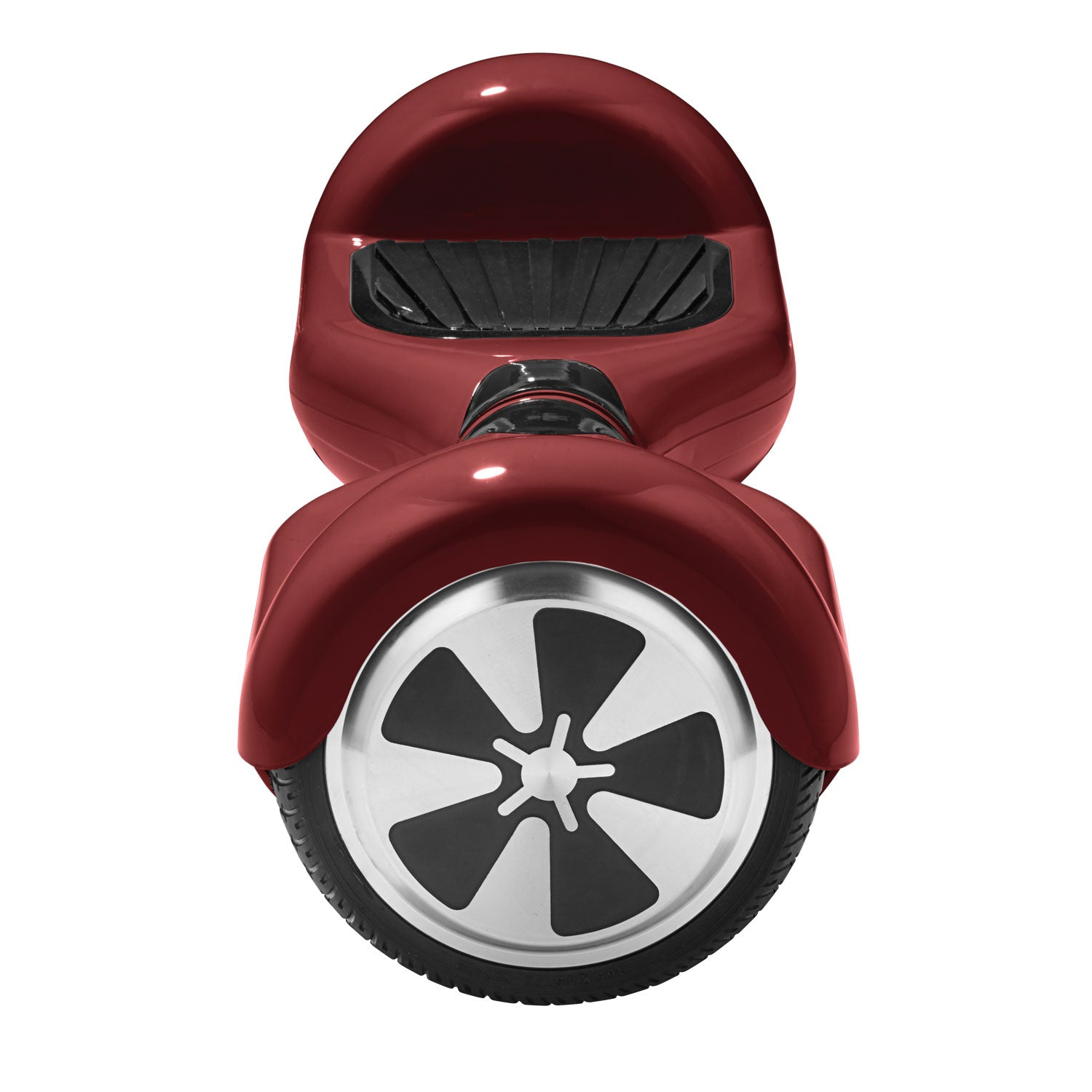red eco hoverboard side