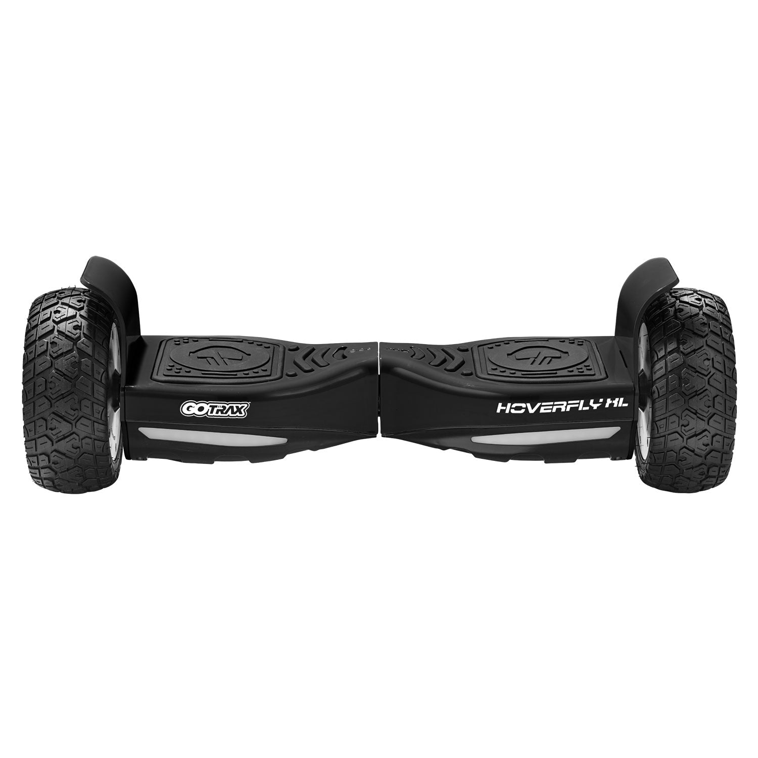 Black xl off road hoverboard Front