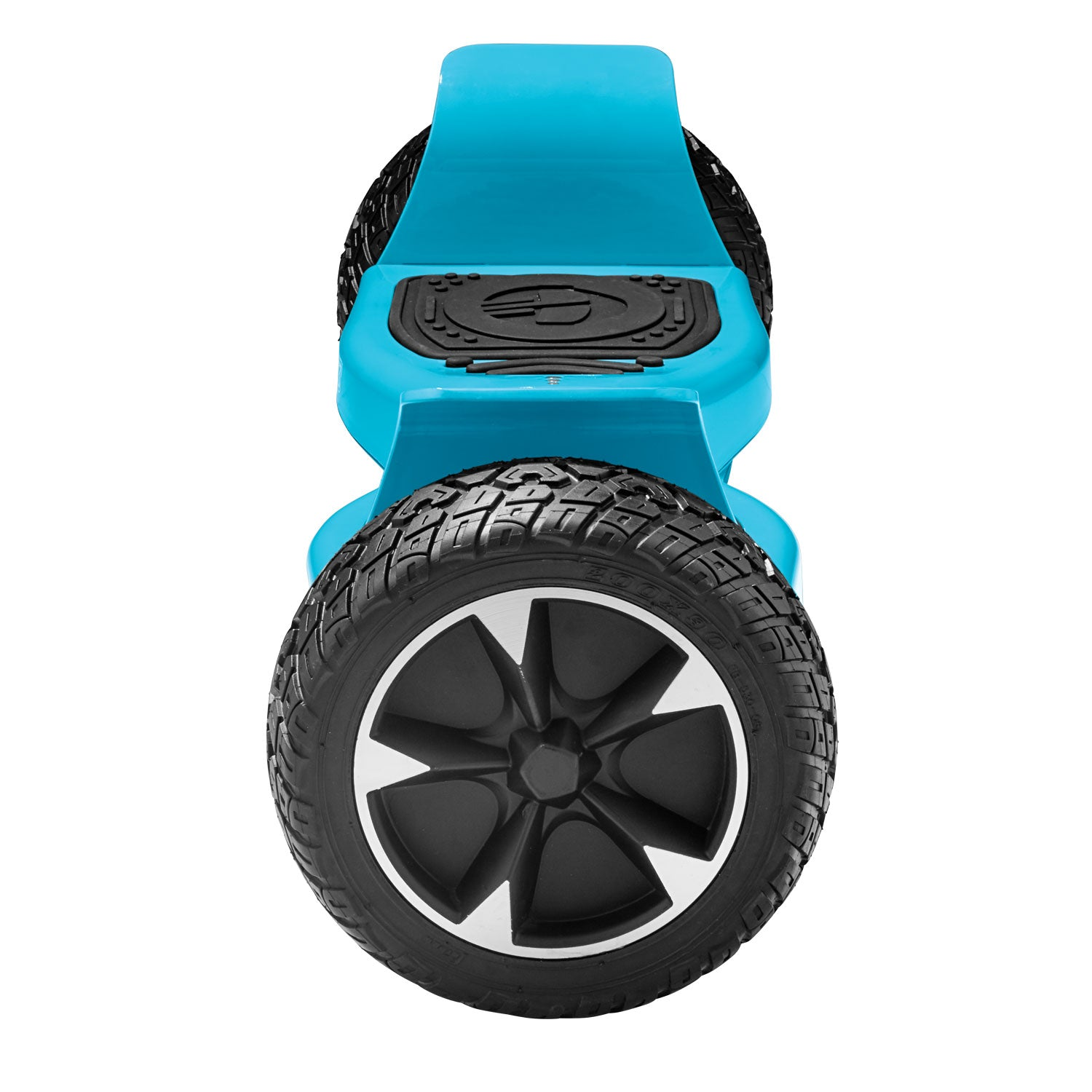 blue xl off road hoverboard side view