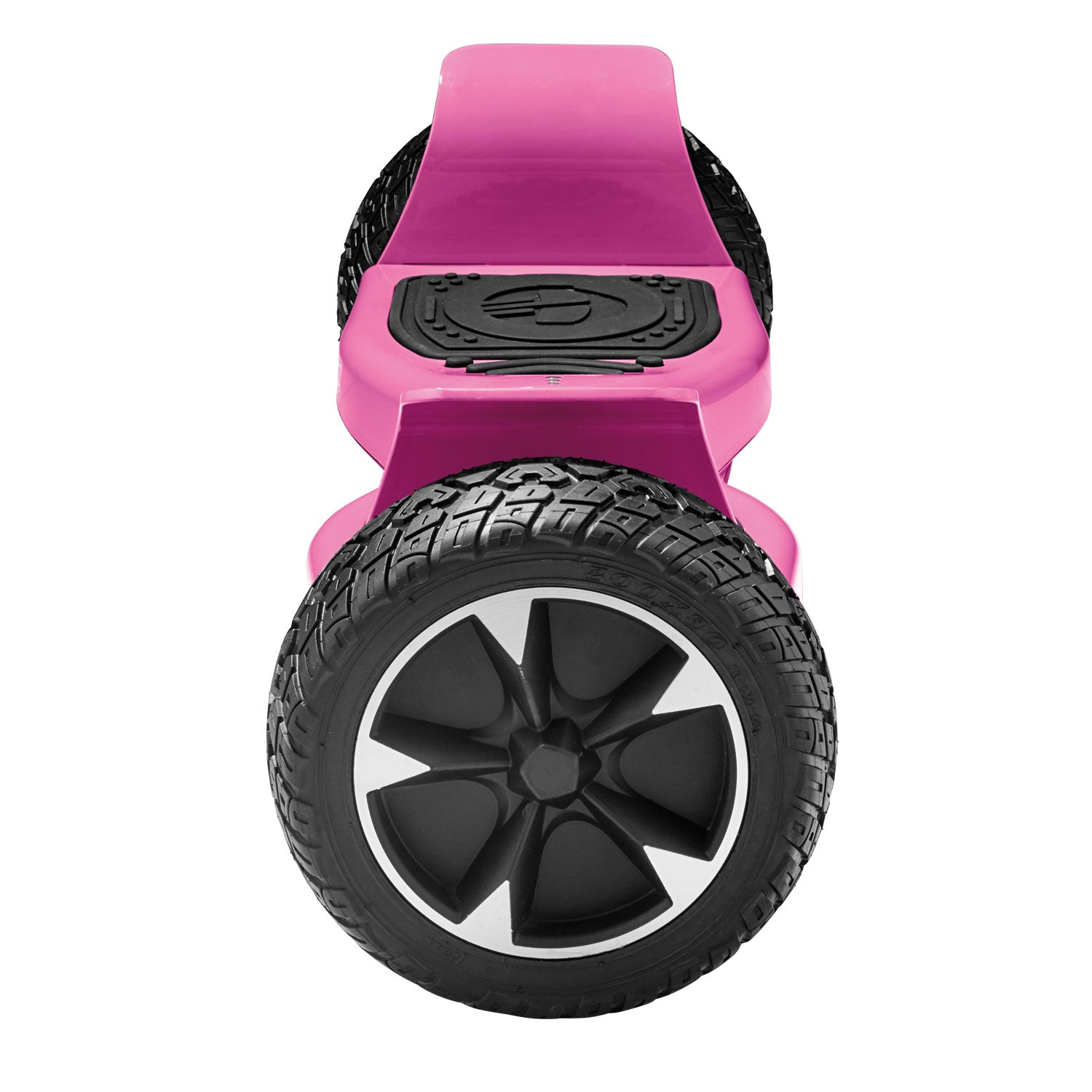pink xl off road hoverboard side view