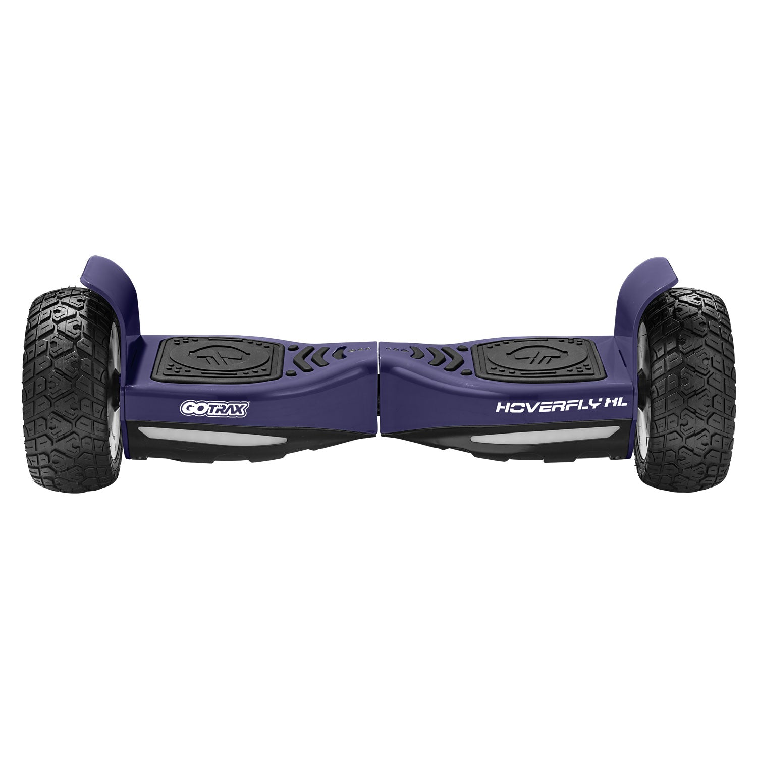 purple xl off road hoverboard Front