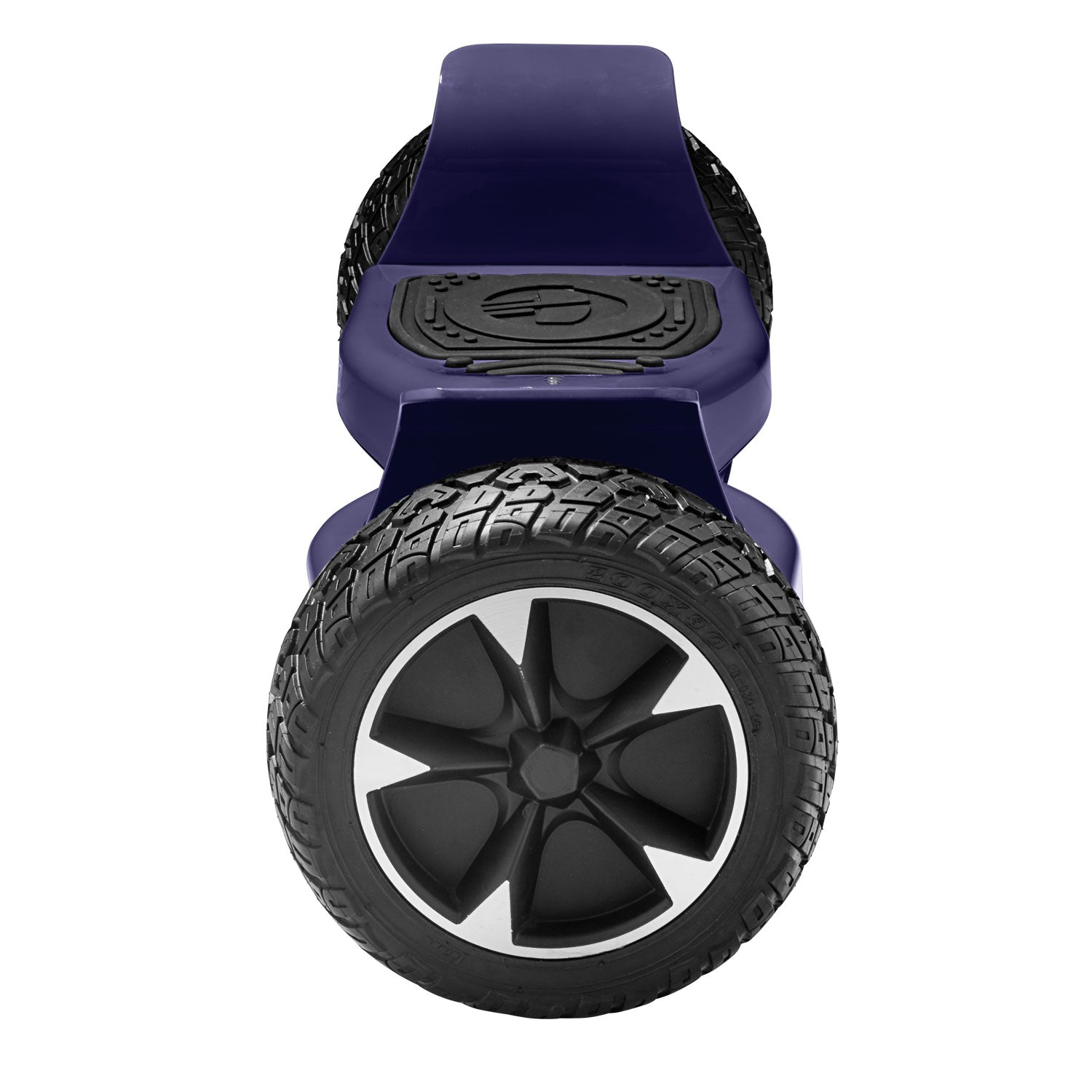 purple xl off road hoverboard side view