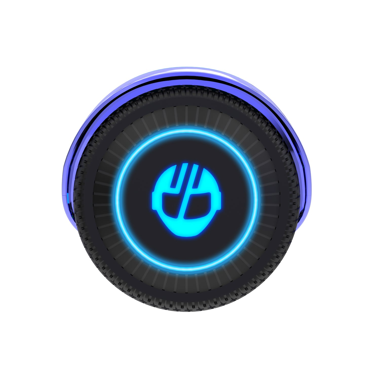 Purple Glide Hoverboard Wheel Image