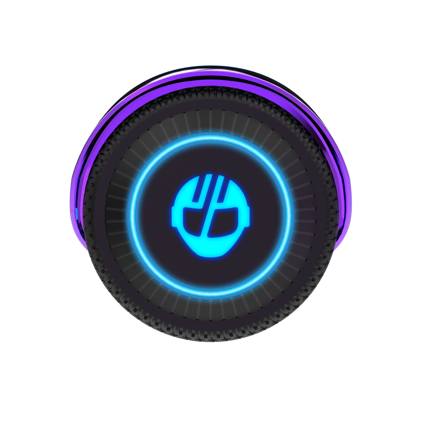 Rainbow Glide Hoverboard Wheel Image