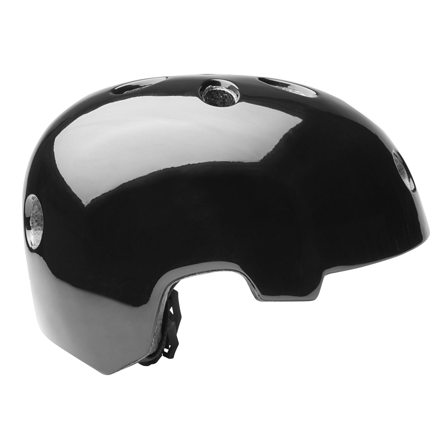 Black GOTRAX multi-sport helmet Side image