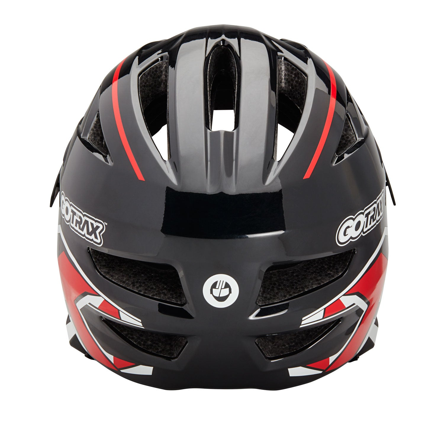 Red GOTRAX 2 in 1 Helmet Back Image