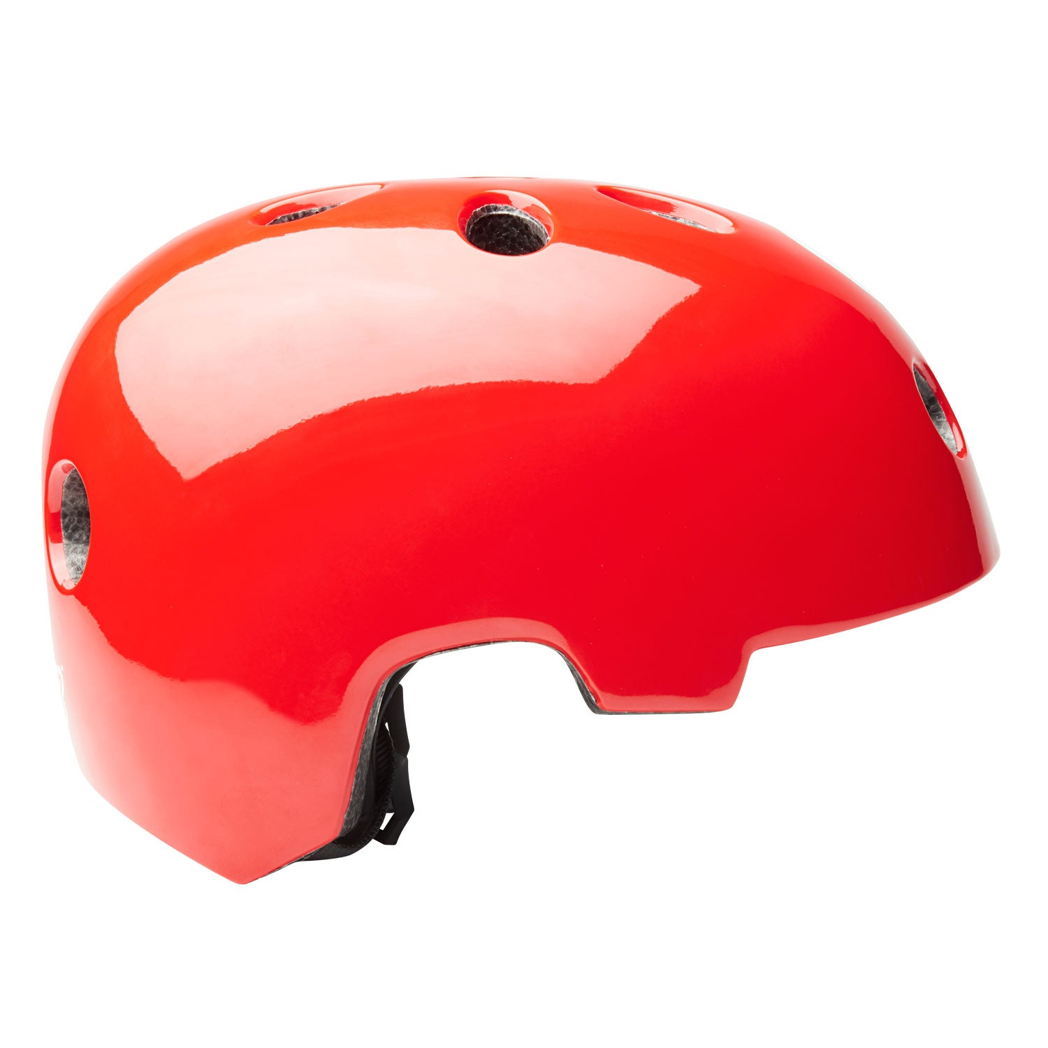 Red GOTRAX multi-sport helmet side image
