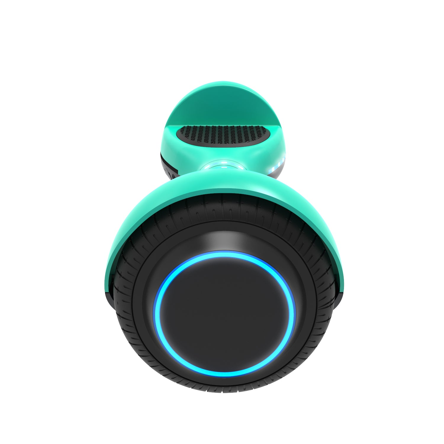 Teal ion hoverboard side view