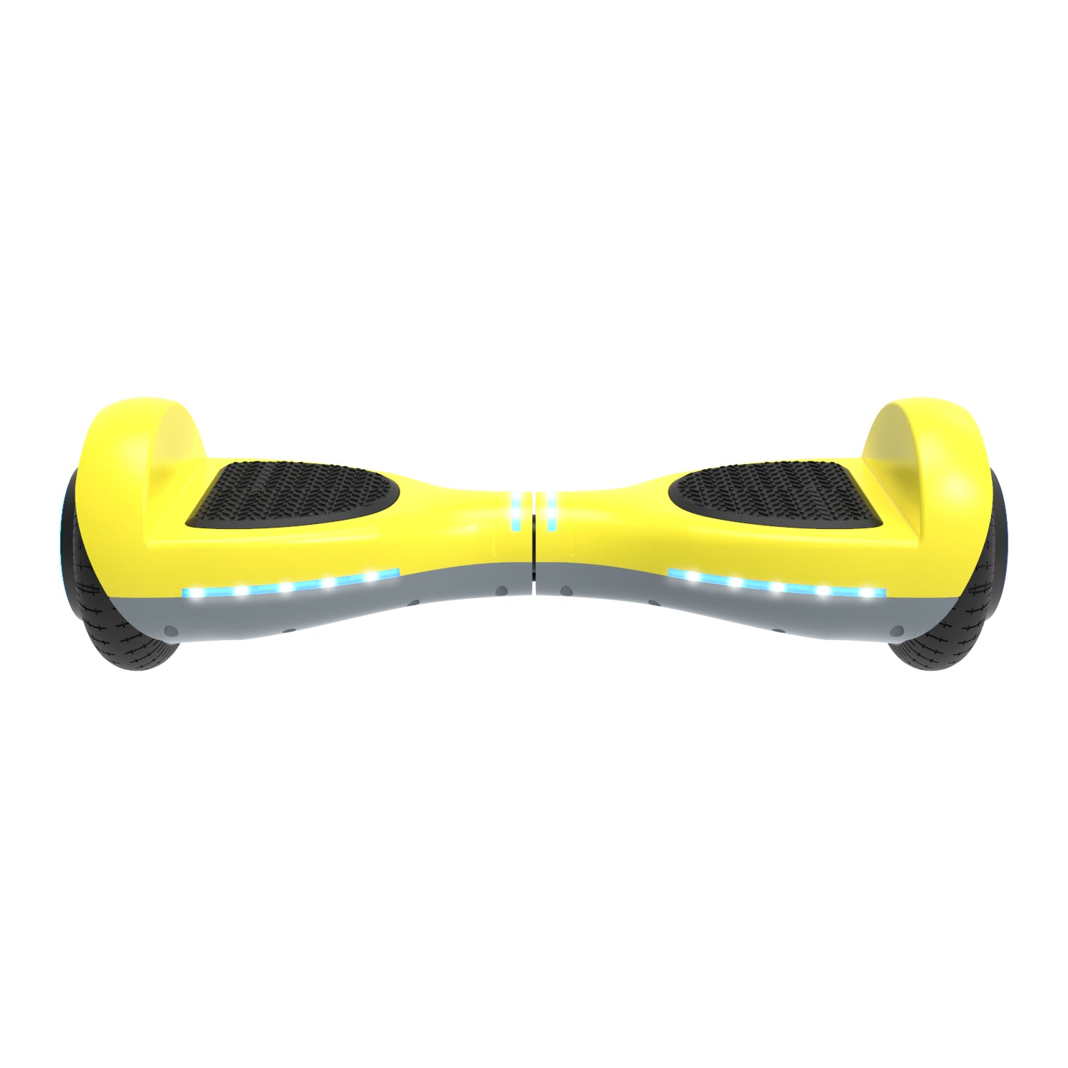 yellow ion hoverboard front view