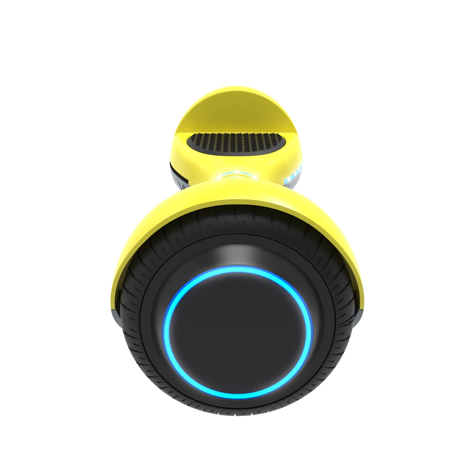 yellow ion hoverboard side view