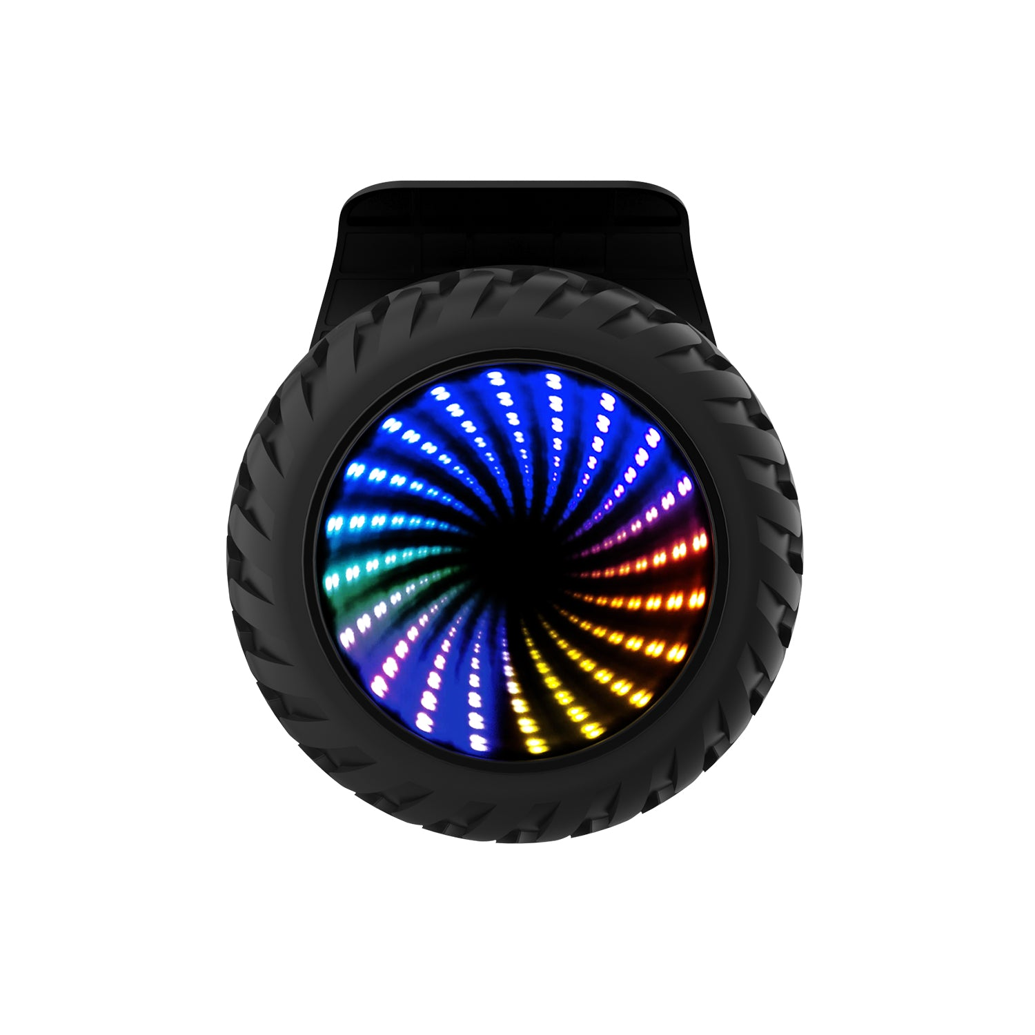 Black InfinityPro Hoverboard Wheel Image