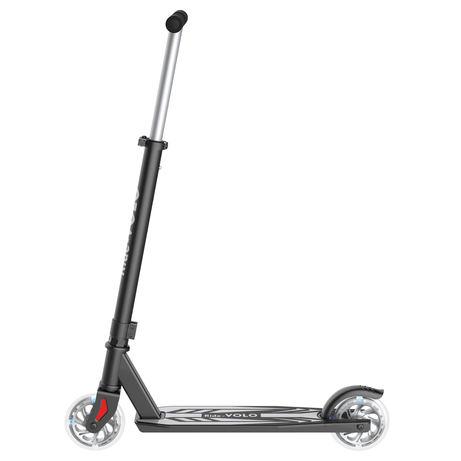 Gray k05 scooter side image