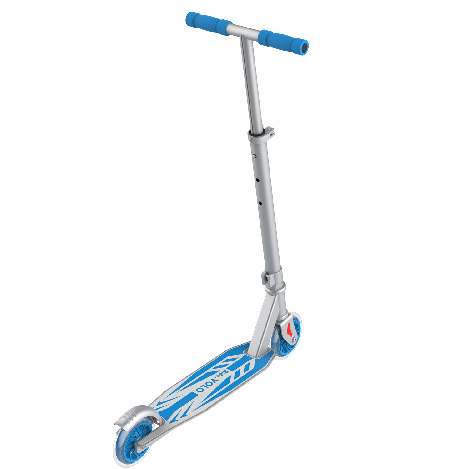 Silver k05 scooter away image