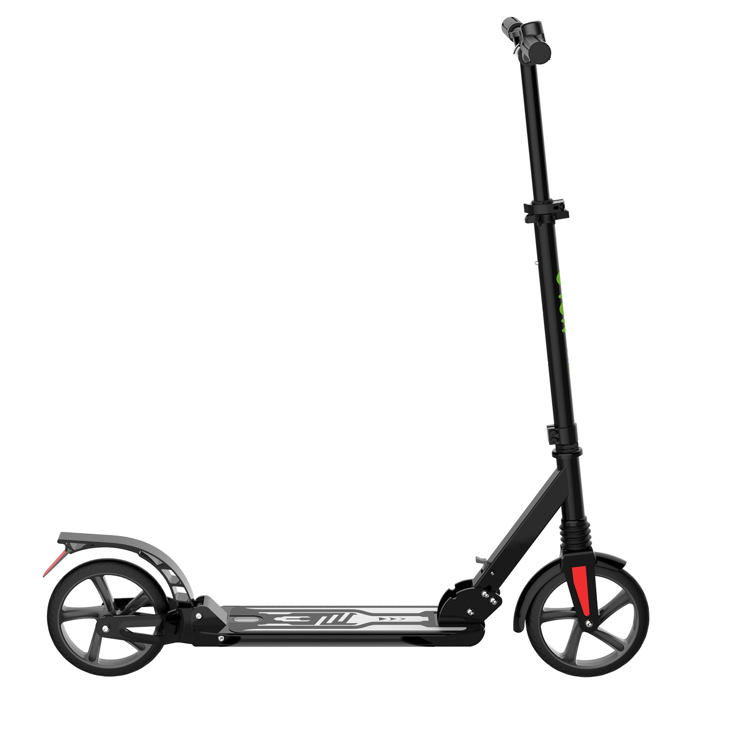 Black K08-1 Kick Scooter side 2