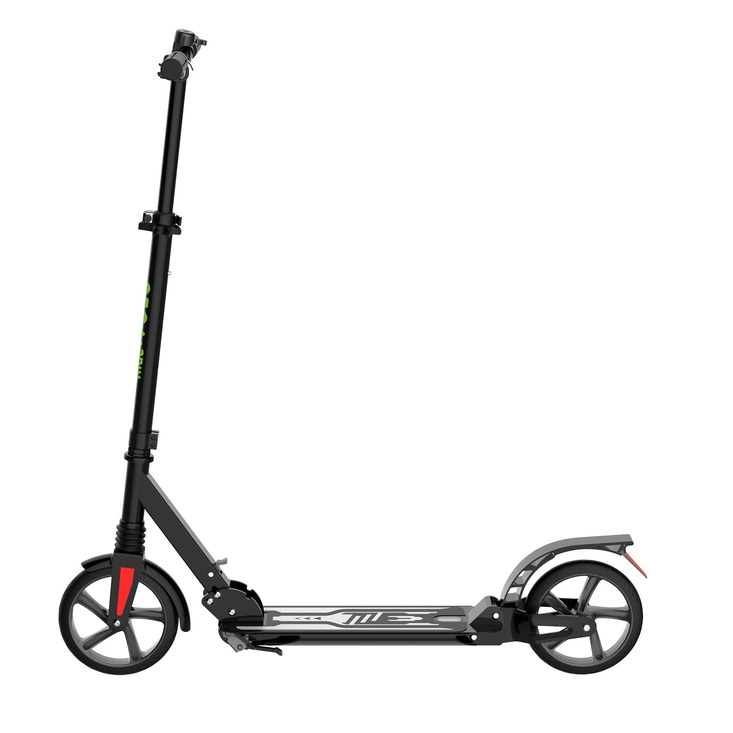 Black K08-1 Kick Scooter side 1