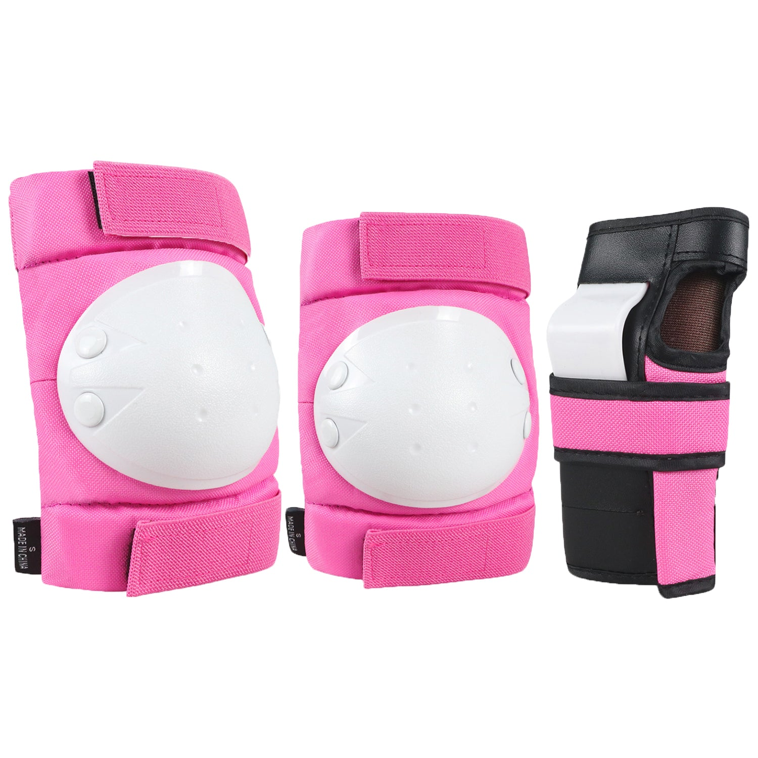 Pink Kids Knee Pads